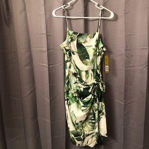 New Tropical Palm Gianni Bini Dress